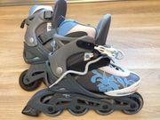 Rollerblades Stuf mit Schutz-Set
