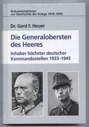 Dr Gerd F Heuer - Die