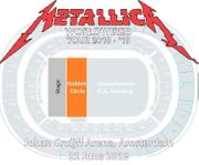 Metallica Front Of Stage 1