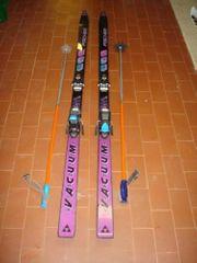 Fischer Alpin Ski mit Skistöcken
