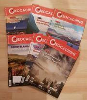 Jahrgangsausgaben Geocaching Magazin 2016 2017