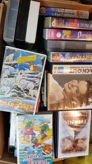Ein Karton VHS