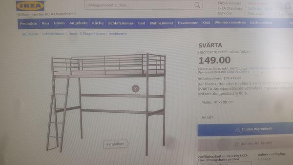 Etagenbett Metall Ikea : Ikea hochbett günstig gebraucht kaufen