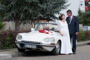 Hochzeitsauto - Citroen DS Cabrio - klassischer