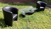 2 Polster Sessel