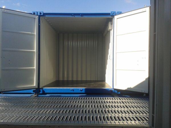 Garagen Container lager container garage miniwerkstatt mit licht und strom