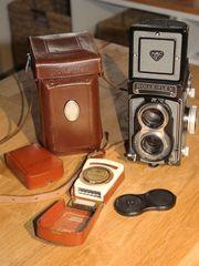 Spiegelreflex-Kamera Rolleiflex