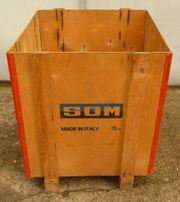 Holz Kiste Holzkiste Kasten Box