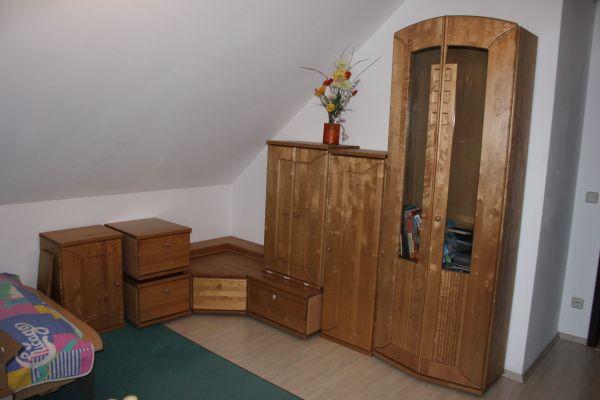 Wohnwand Buche Massiv » Wohnzimmerschränke, Anbauwände