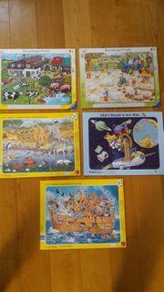 Div Rahmenpuzzle 32 - 45 Teile