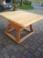 Tisch, Ecktisch rustikal