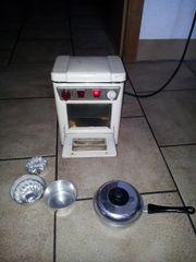 Antiker Elektro-Kinderherd zum Kochen und
