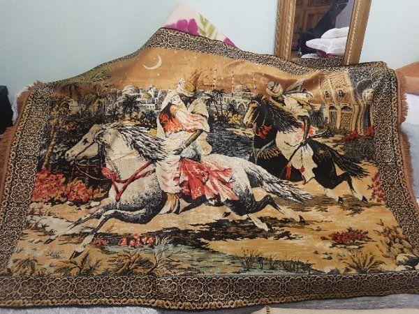 deko teppich gebraucht kaufen nur noch 2 st bis 60 g nstiger. Black Bedroom Furniture Sets. Home Design Ideas