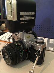 Canon AE1 Spiegelreflex Kamera div