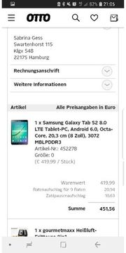 Samsung tab s2 kaum genutzt