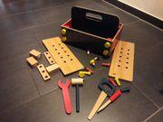 Holzspielzeug Werkzeugkiste