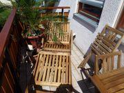 Gartenmöbel, Teakholz Stühle,