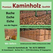 Kammergetrocknet Kaminholz Premium