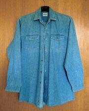 Jeansbluse Bluse Gr 38-40 oversized