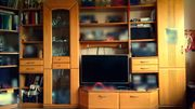 Wohnzimmerschrank Buche massiv