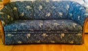 Blaue Couch/Schlafcouch