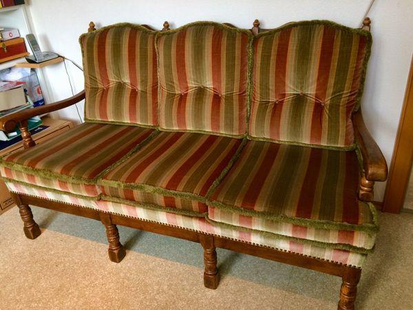 Sitzgarnitur 2 Stühle Und 1 Bank In Hard Stilmöbel Bauernmöbel