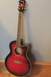 Ibanez elektro-akkustische Gitarre