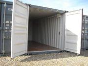 Lager-Garage-Container - für Privat und Gewerbe
