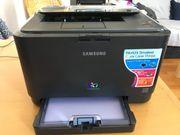 Samsung Farblaserdrucker CLP-