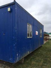 Baustellencontainer Container Mannschaftscontainer Bürocontainer für