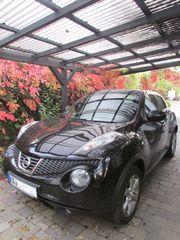 Nissan Juke-Acenta schwarzmet TOP ZUSTAND
