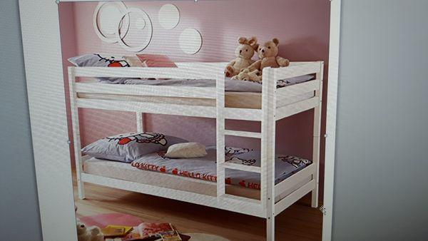 Etagenbett Weiß Für Kinder : Etagenbett kiefer massiv weiß cm in mutterstadt kinder