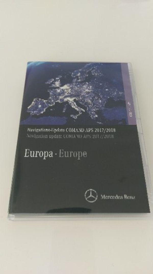 Mercedes Benz Navigation 2017/2018 Comand APS NTG4-2012 Hellviolett ...