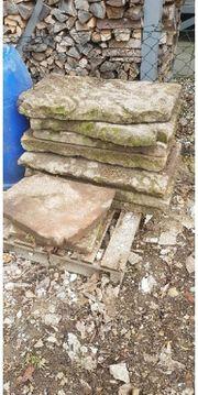 Garten Steinplatten