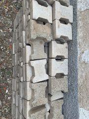 Doppel T-Verbundpflaster Pflastersteine grau 20x16