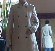 Tausche beigen Wollmantel Winter-Mantel von