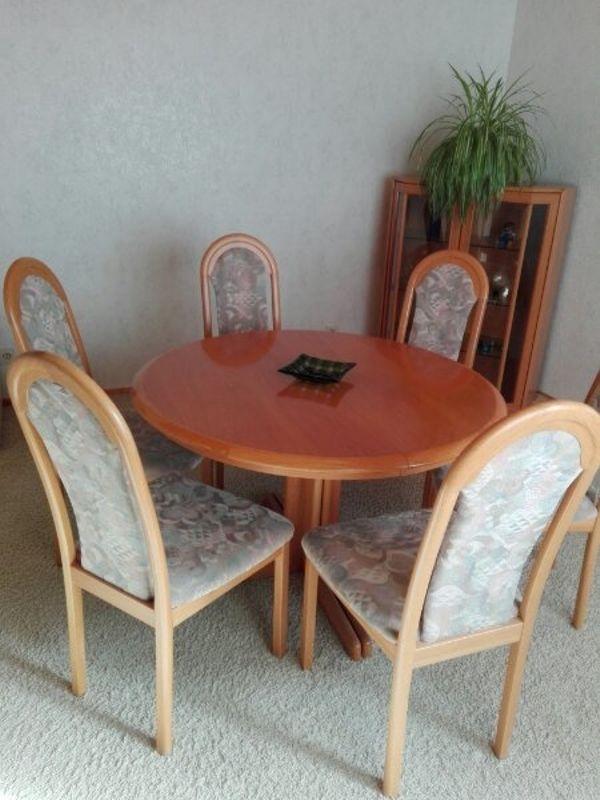 Essgruppe Esstisch Mit 6 Stuhlen In Herzogenaurach Speisezimmer