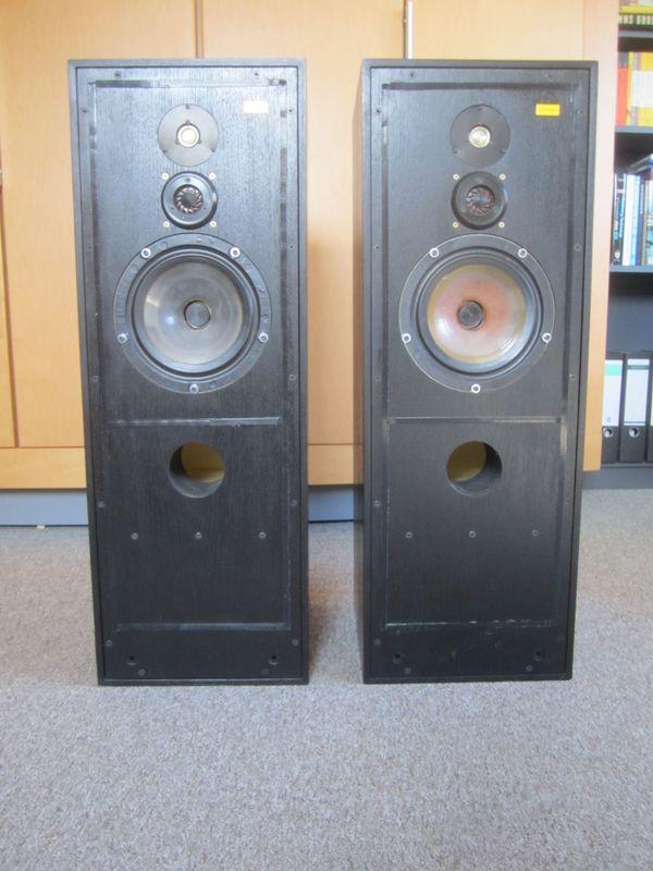 Spendor 75/1 aktiv Professional mit Burmester-Audiokabeln in Bingen ...