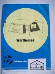 Steilwandzelt Camping-Zelt mit Vordach Markenzelt