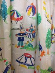 Kinderzimmer Gardinen Zirkus Vorhang
