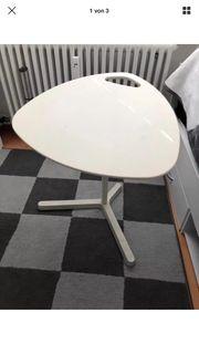 Laptop Tisch von Ikea weis