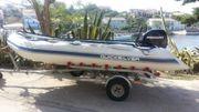 Quicksilver Schlauchboot mit Zubehör Motor