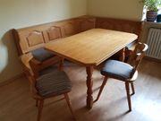 Kücheneckbankgruppe Doppelbett Schreibtisch antike Nähmaschine