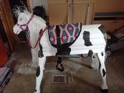 Holzpferd Voltigierpferd kpl neu und