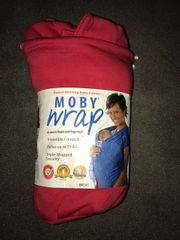 Moby Wrap Tragetuch rot