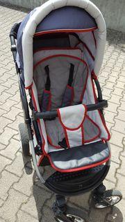 Bergsteiger Kombi-Kinderwagen mit vielen Extras