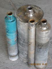 4 gebrauchte Bohrkronen (