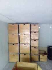 Holzschütten (Lagerkisten für