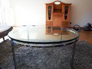 Runder Glastisch mit edlem Design