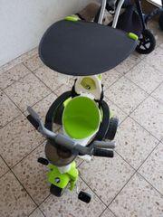 kinderdreirad mit schiebe Stange gebraucht kaufen  Bürstadt